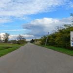 Droga w miejscowości Górki.