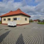 Oczyszczalnia ścieków w miejscowości Jurków.