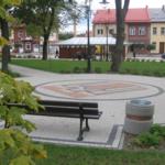 Rynek w Wiślicy.